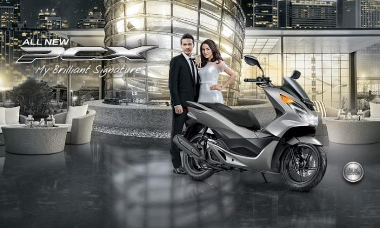 All New Honda PCX Tampil dengan Wajah Baru