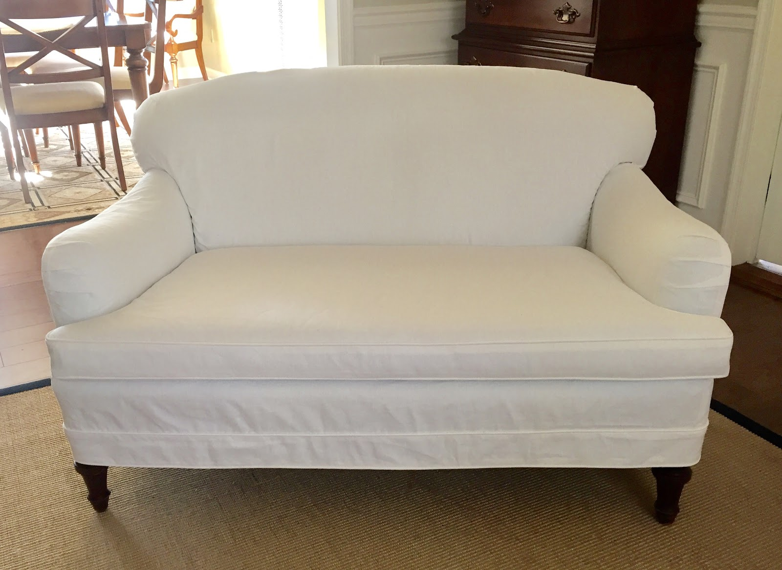 Slipcovers For Barrel Chairs Thomasville Leather Office Chair Pam Morris Sews