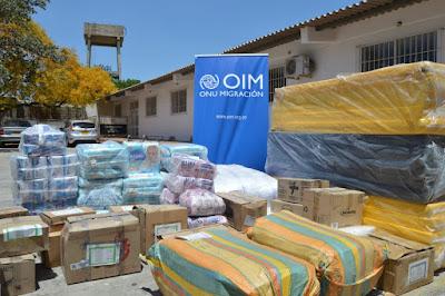 OIM entregó a Riohacha dotación para población vulnerable