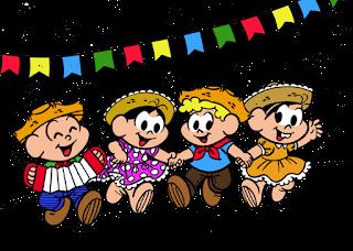 Imagens de Festa Junina com a Turma da Mônica