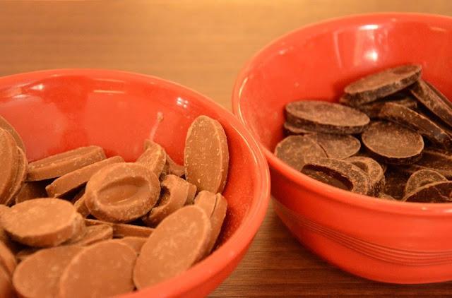 Chocolade, cacao, pure chocolade,
