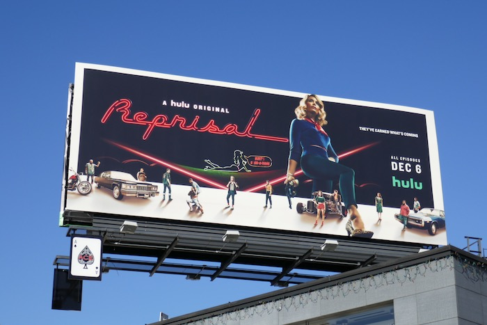Reprisal series premiere billboard