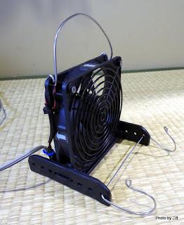 車中泊用扇風機