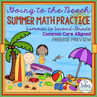 summer slide math review free