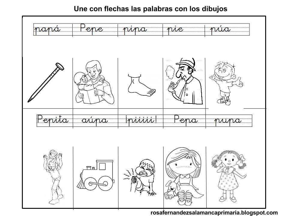 Maestra De Primaria Fichas De Lectoescritura Fonema P