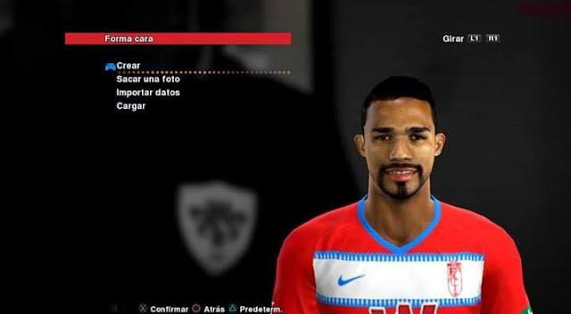 Yangel Herrera (Granada CF) Face PES 2013