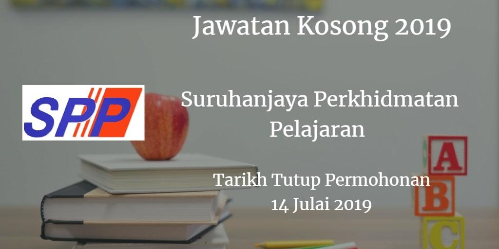 Jawatan Kosong SPP 14 July 2019