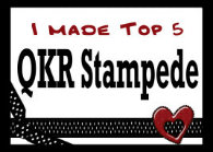 Top 5 Placement  at QKR Stampede