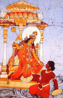 देवी बगलामुखी - एक सुनहरी त्वचा वाली देवी | Devi Baglamukhi - Goddess With a Golden Skin Tone