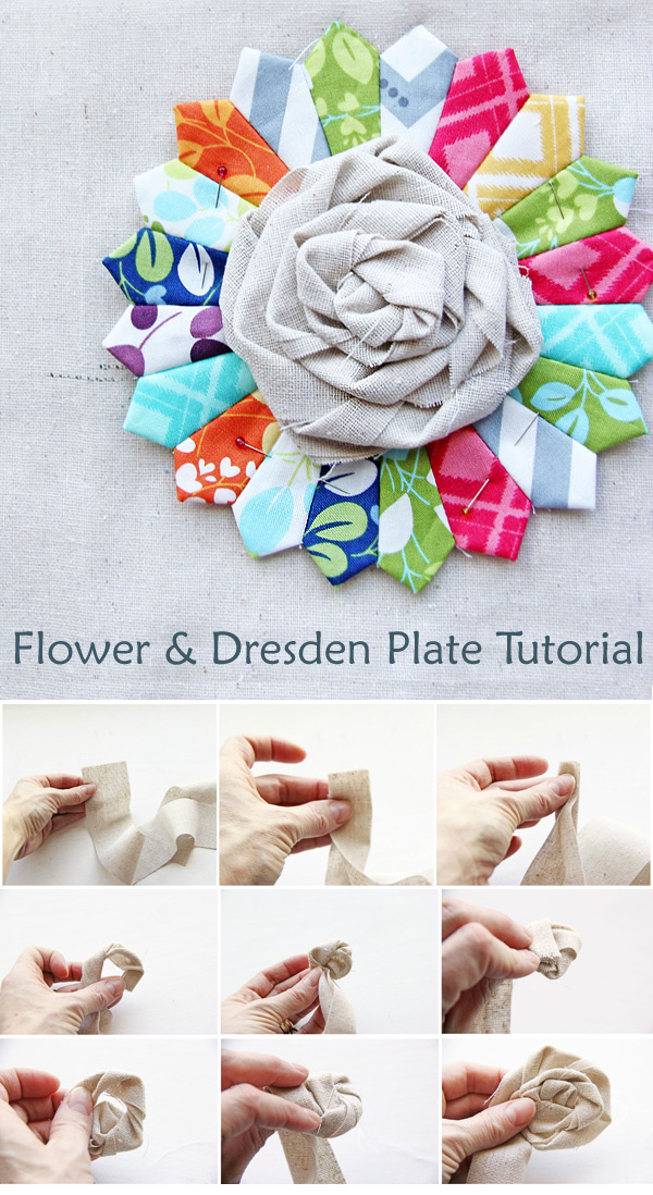 Flower & Dresden Plate Tutorial