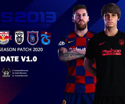 PES 2013 Next Season Patch 2020 Update V1
