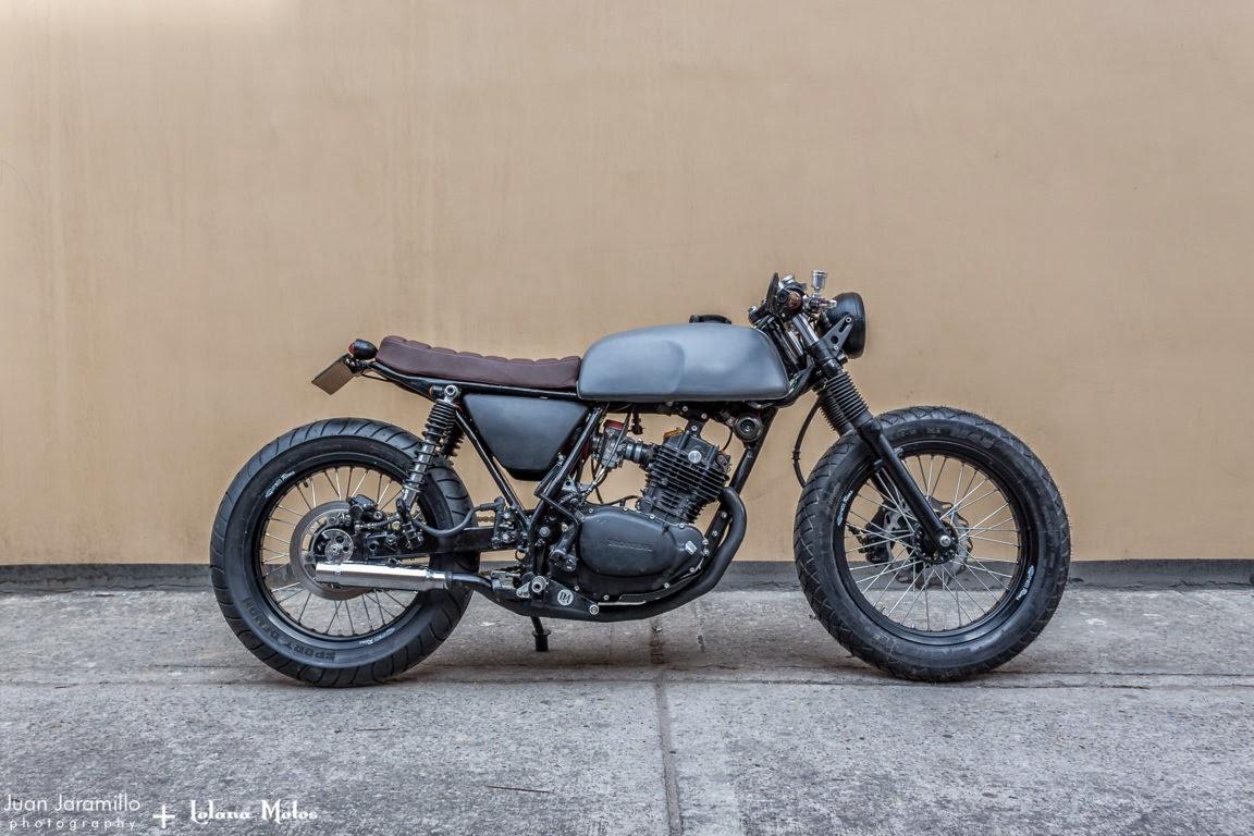 honda xl 250 cafe racerlolana motos - lsr bikes