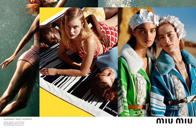 Elle Fanning stars in Miu Miu's Spring/Summer 2017 Campaign