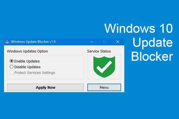 Windows Update Blocker - Εύκολη απενεργοποίηση των ενημερώσεων των Windows