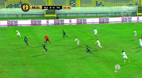 ملخص مباراة الرجاء الرياضي وتونغيث (0-0) اليوم الثلاثاء في دوري أبطال أفريقيا
