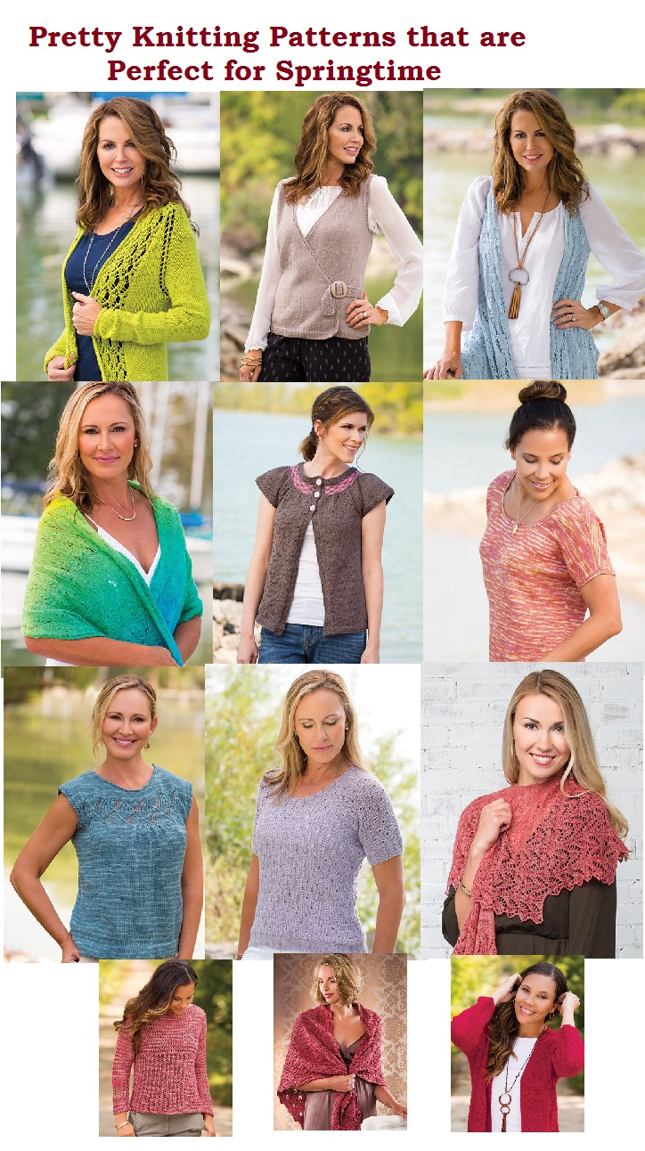 Pretty Knitting Patterns to Knit for Spring