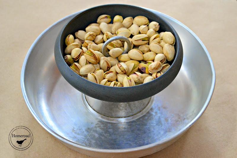 Repurposed Pistachio Nut Bowl