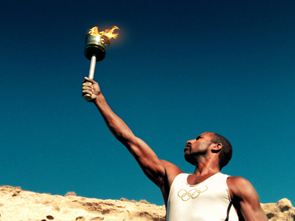 The history of olympic torch