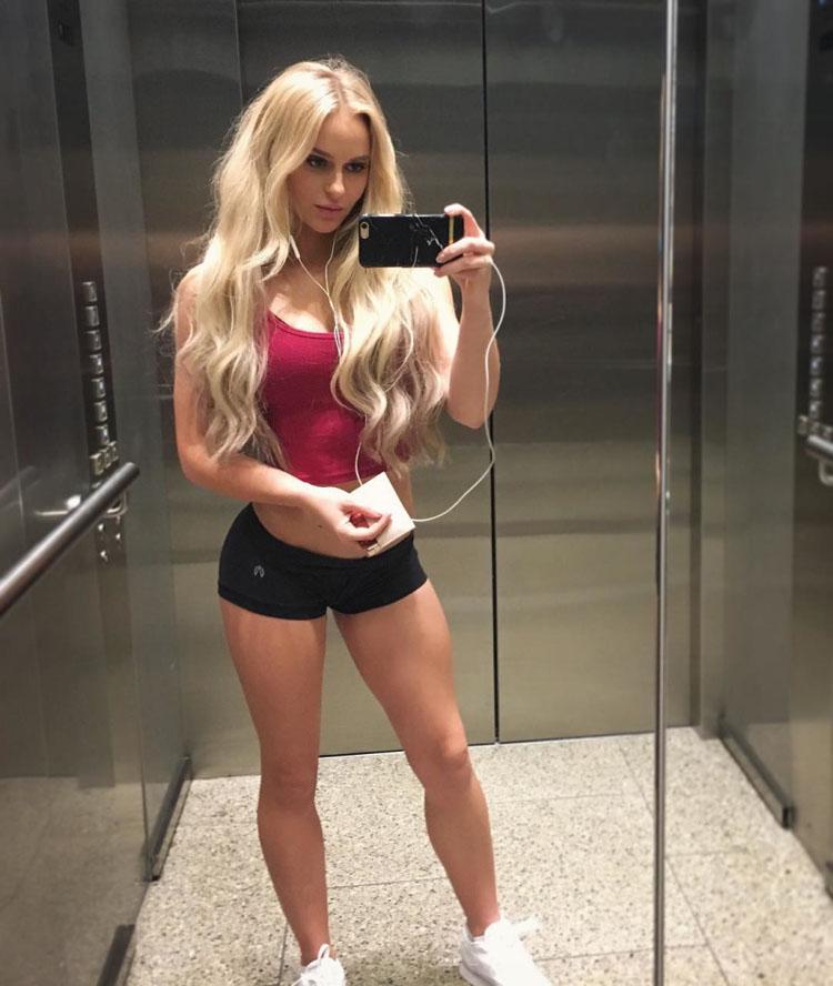 Fitness Model Anna Nystrom