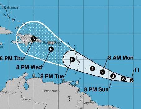 """Meteorología da """"seguimiento estricto"""" a tormenta Dorian, que es amenaza para RD"""