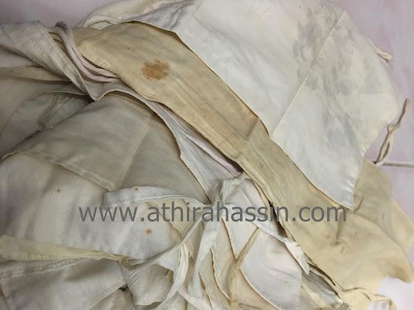 Tips dan cara putihkan kain putih yang kuning dan lama