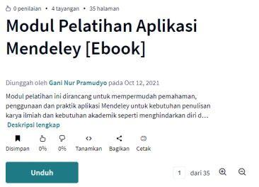 Publikasi gratis melalui ebook Scribd