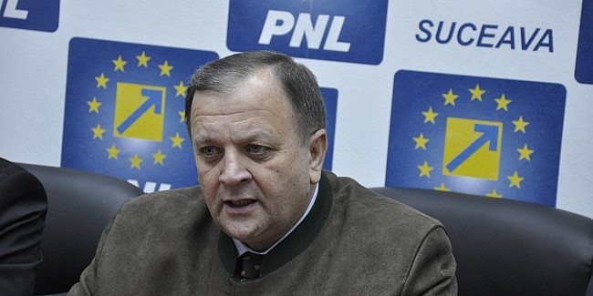 Gheorghe Flutur, reconfirmat președinte al PNL Suceava