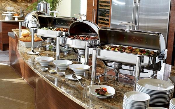 Kinh nghiệm lựa chọn chafing dish cho nhà hàng khách sạn sao cho hợp lí