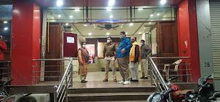 होटल में आयोजित सगाई कार्यक्रम के दौरान कोविड-19 की गाईड लाईन का उल्लंघन होने पर मैनेजर के विरुद्ध प्रकरण दर्ज