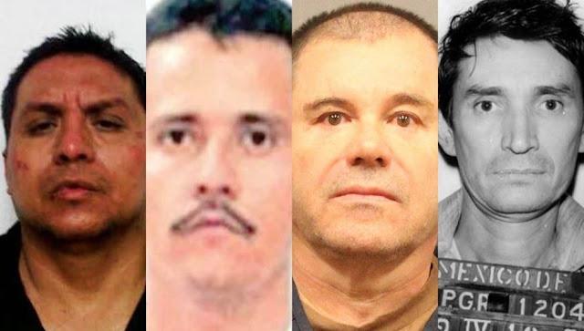 """La Cacería de la DEA; Desde el """"Jefe de Jefes"""", El Z-42, Chapo y Mencho, mientras vivían en medio de lujos y libertades"""