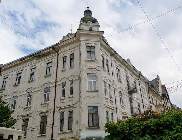 Чернівці. Вулиця Кобилянської, 51. 1907 р.