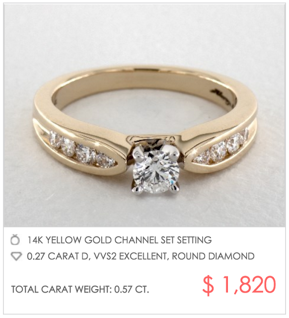 Custom Engagement Rings Under $2000 James Allen Edition