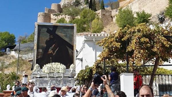 La procesión del Cristo del Paño de Moclín (Granada) declarada Fiesta de Interés Turístico