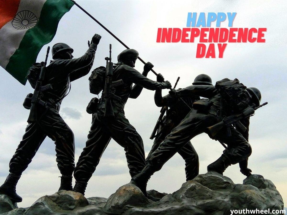 Celebration of Independence day of India