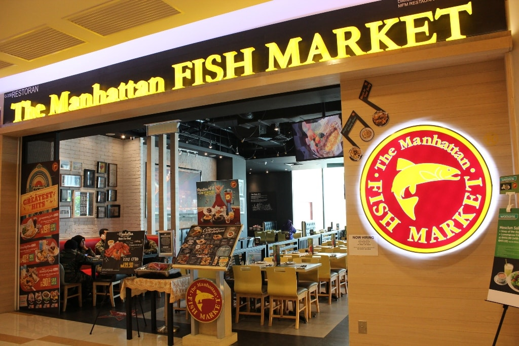 first time merasa menu The Manhattan Fish Market ~ Wordless Wednesday