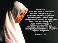 Pulang Umroh, Tetap Tak Mau Pakai Jilbab