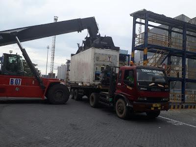 Undername Export Door to Door Jakarta to Germany 20 FT-T.O.S-DDP