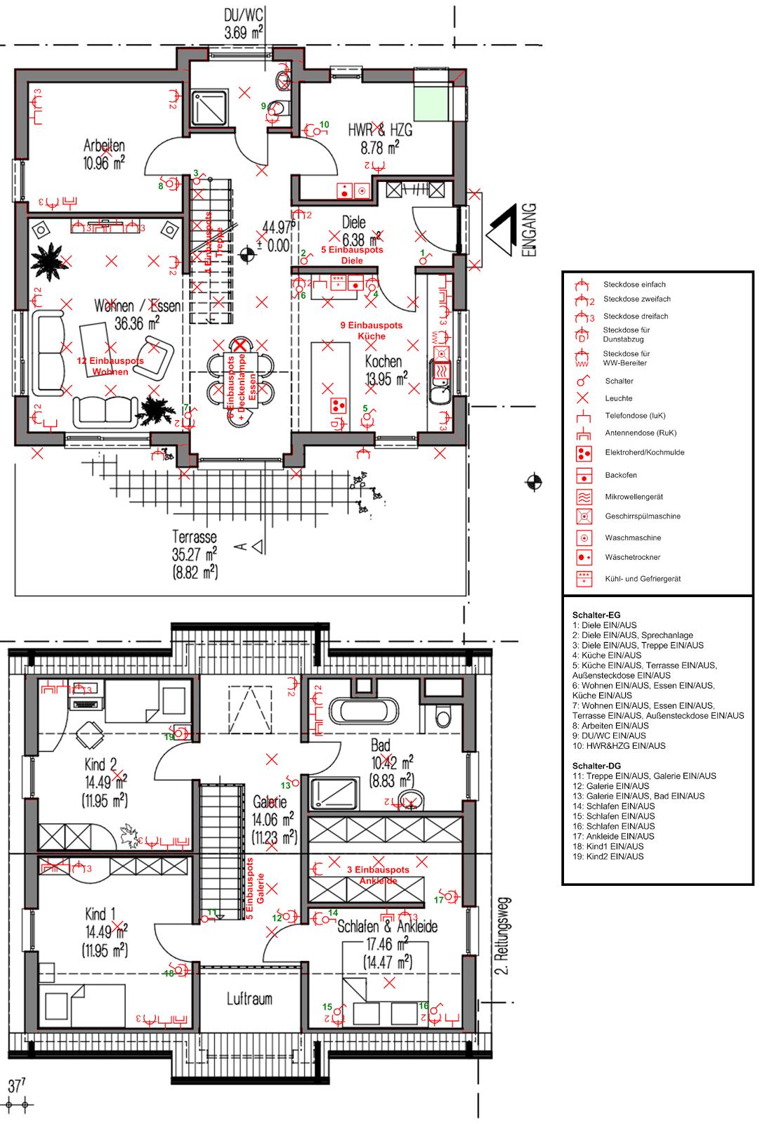 kasia irek wir bauen unser traumhaus elektroplanung und haussteuerung. Black Bedroom Furniture Sets. Home Design Ideas