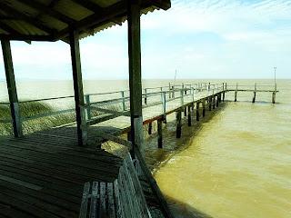 Trapiche da Praia da Picada, em Barra do Ribeiro