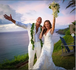 Dwayne 'The Rock' Johnson marries his longtime girlfriend Lauren Hashian in Hawaii