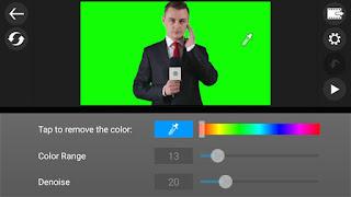 Change background in video by powerdirector