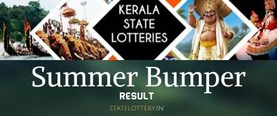Kerala lottery summer bumper br 72 result