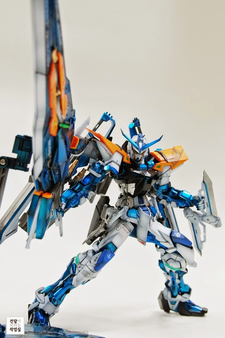 Custom Build Mg 1 100 Gundam Astray Blue Frame Second