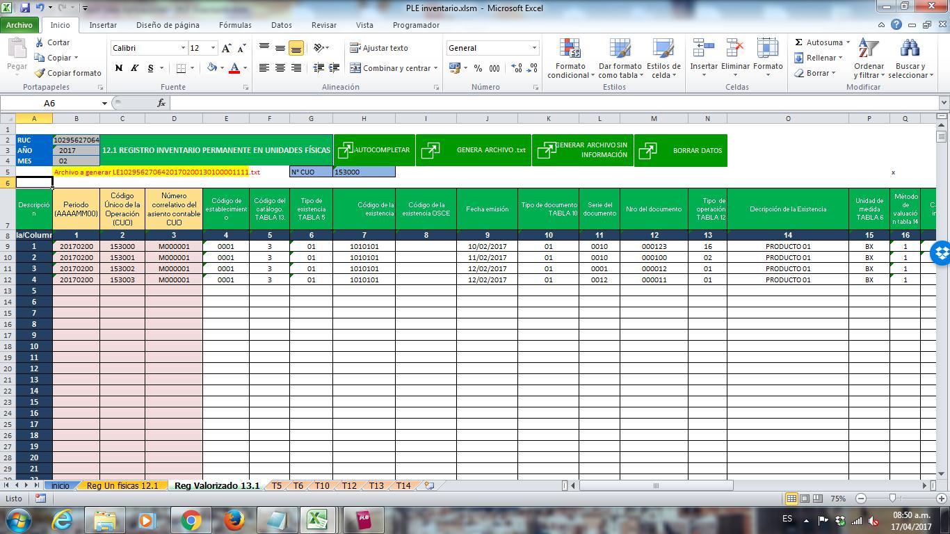Formatos De Inventarios En Excel Formatos En Excel De