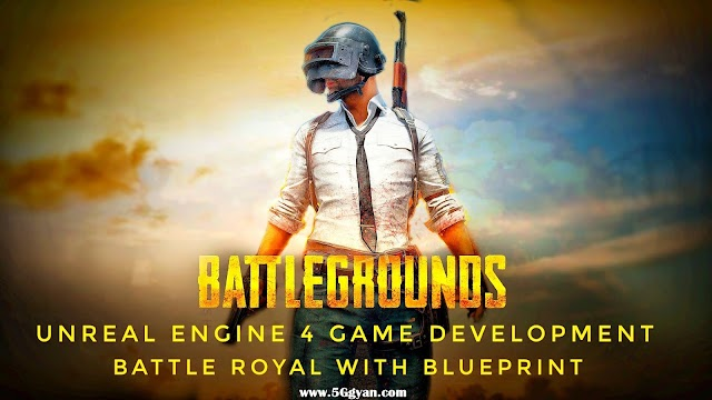 Unreal Engine 4 Game Development : Battle Royale with Blueprint Course Free download