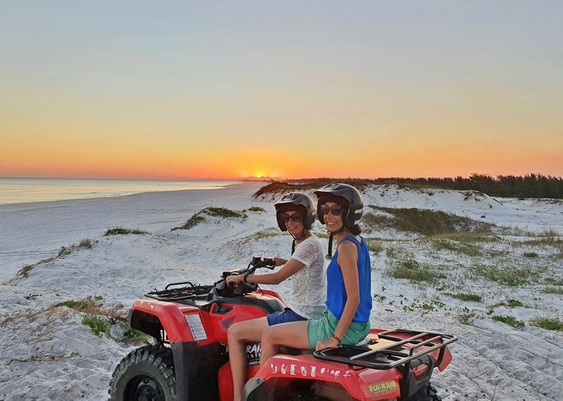 Arraial do Cabo passeio de quadriciclo