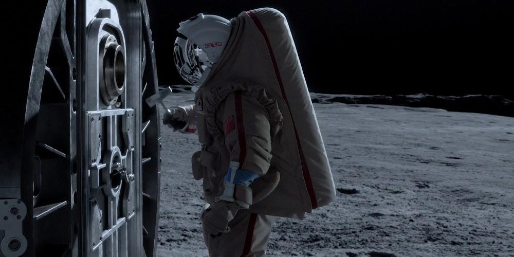 सोवियत कॉस्मोनॉट 'ऑल मैनकाइंड' के सीजन 1 में चंद्रमा पर बचाव के लिए कह रहा है