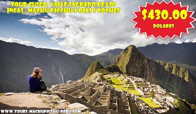 Tour en Oferta a Machu Picchu 4 Dias 3 Noches