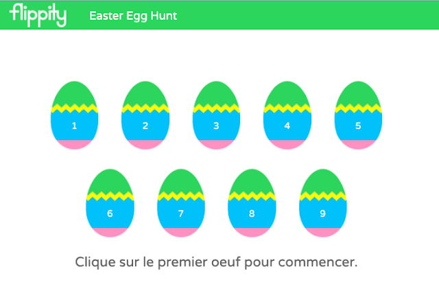 Fun with Flippity: Scavenger Hunt and Easter Egg Hunt