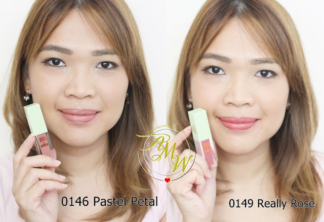 a photo of askmewhats nikki tiu wearing Pixi By Petra MatteLast Liquid Lip